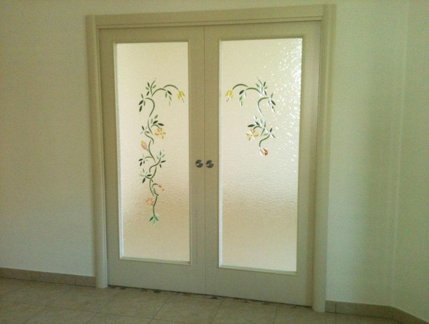 Porta legno e vetro | Vetreria Ligi